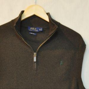Polo Ralph Lauren Quarter Zip Sweater Vest M